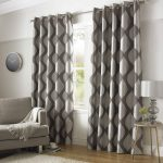 Silver Curtains Spread Silver Hues in the Room
