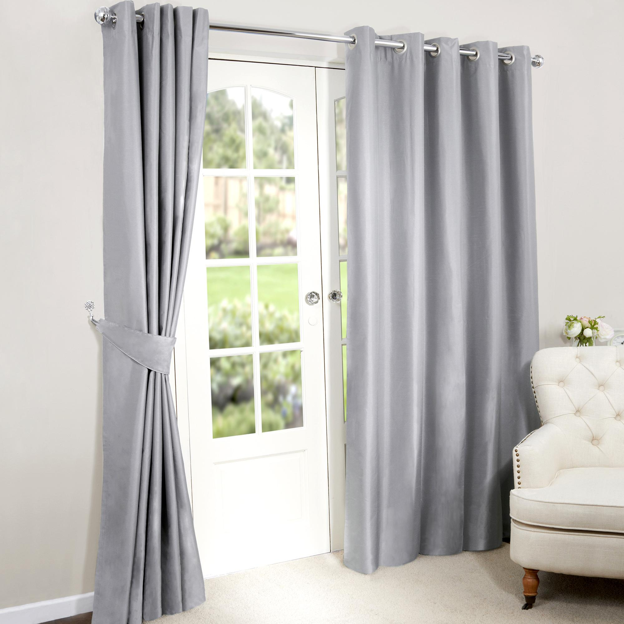 silver curtains nova silver blackout eyelet curtains TNFOGXI