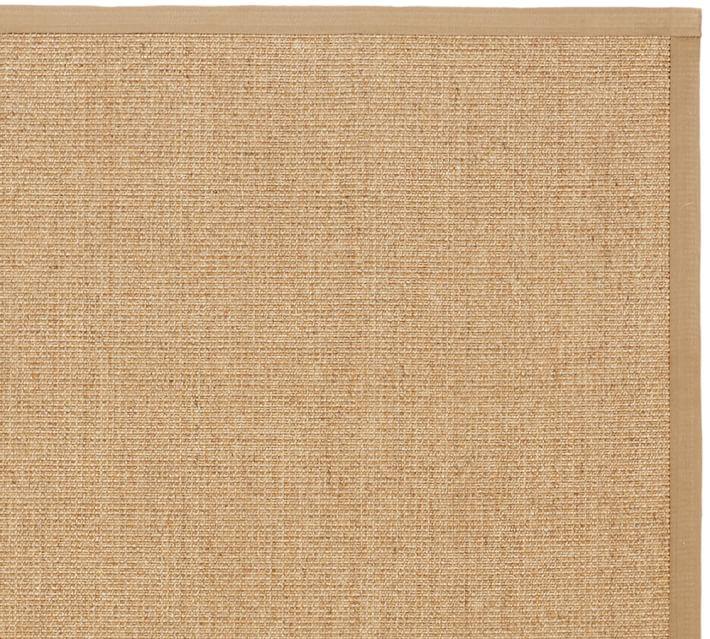 sisal rugs color-bound natural sisal rug - chino | pottery barn UAQANEQ