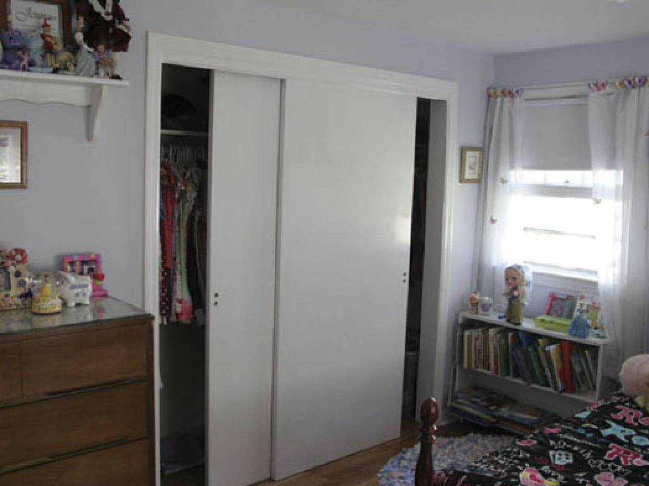 sliding closet doors materials and tools: ZYWVLNE