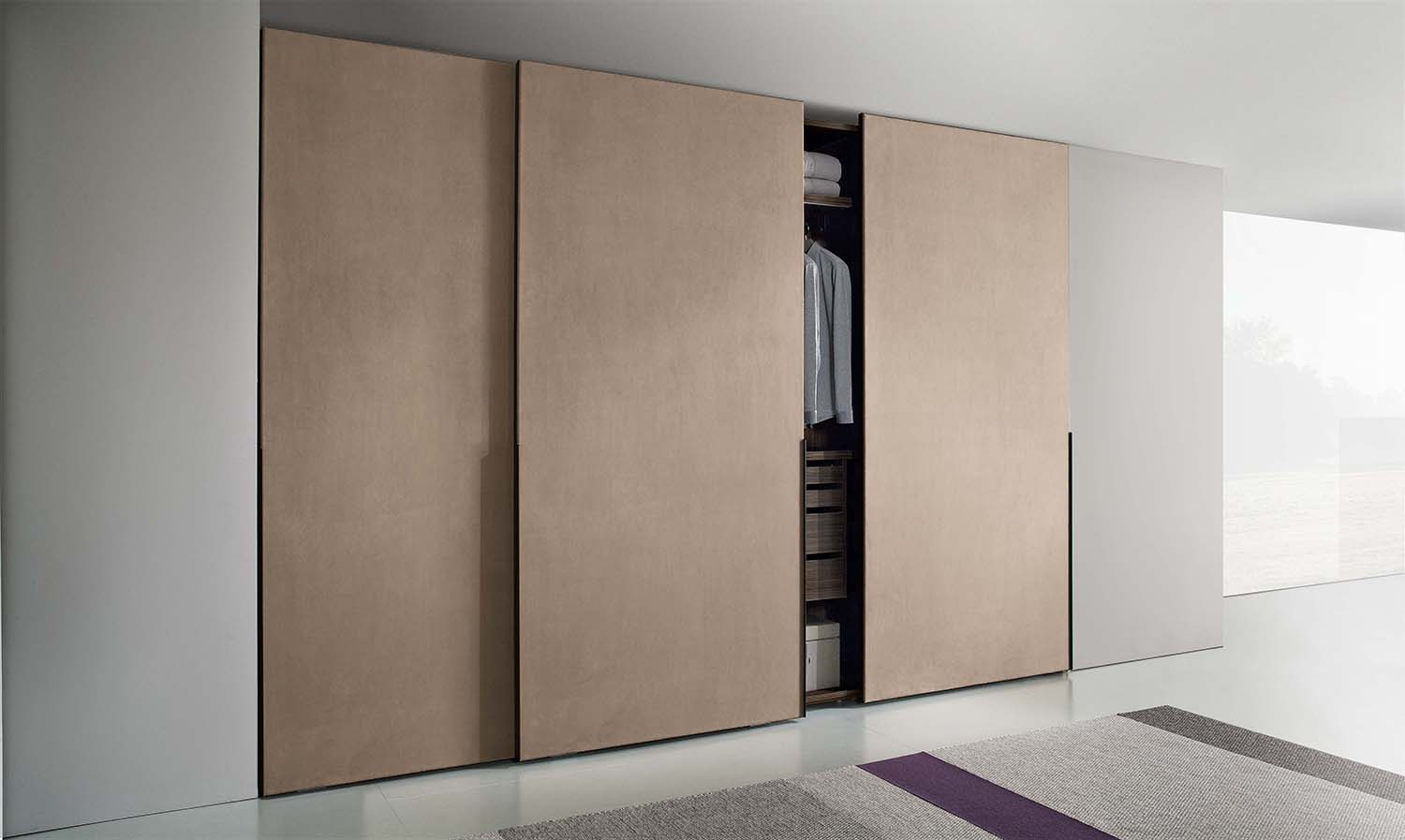 Sliding door wardrobes for modern style homes for Custom sliding doors