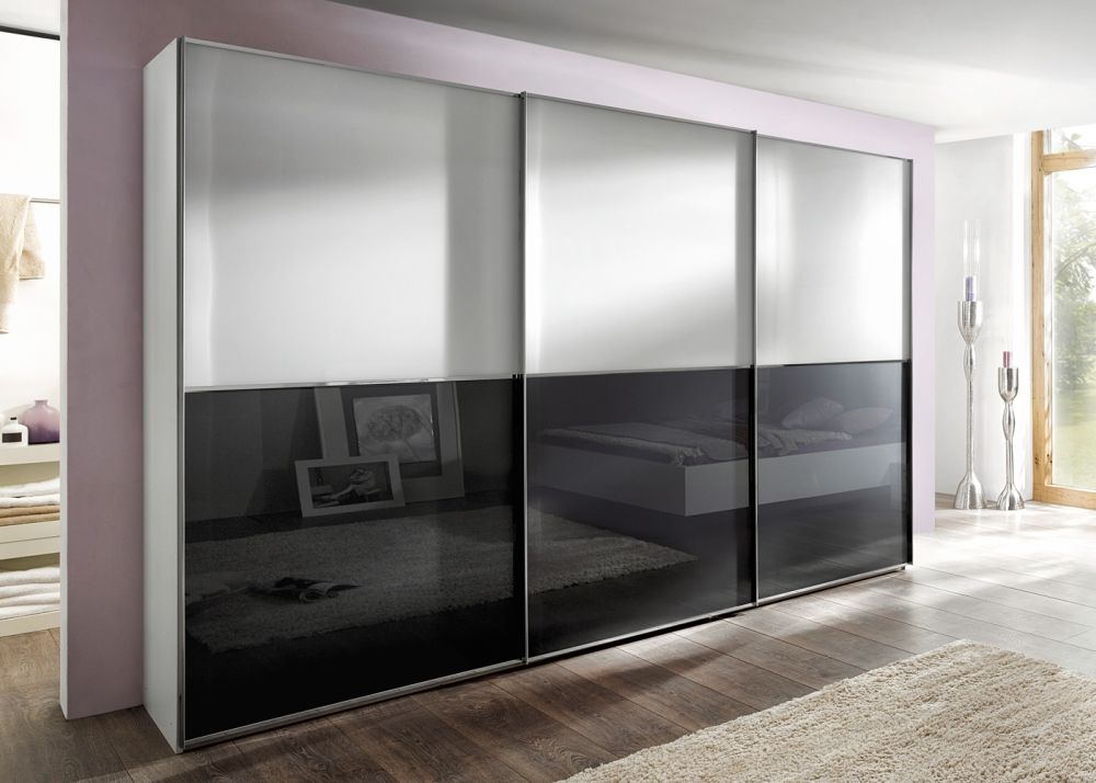 sliding wardrobes nolte attraction plain and glass doors top and bottom sliding wardrobe LBBHPEX