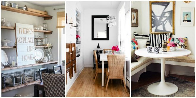 small dining room ideas - design tricks for making the most of a WWNYYAJ