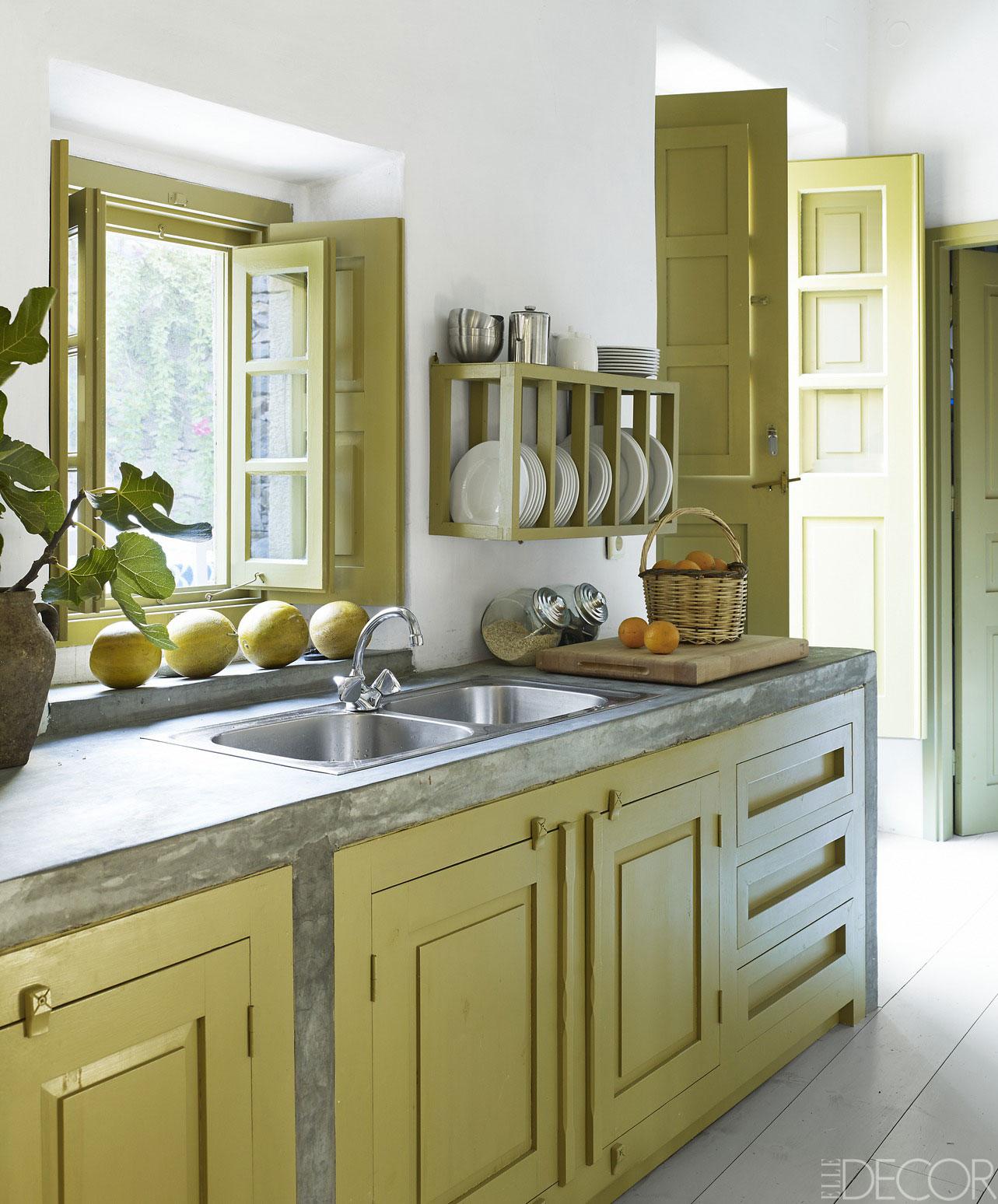 small kitchen ideas 50 small kitchen design ideas - decorating tiny kitchens KUVUKWX