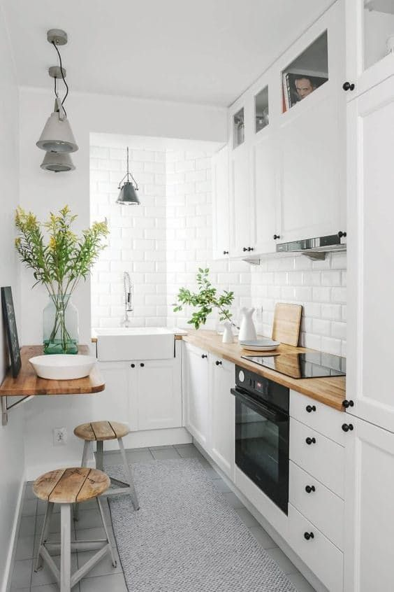 small kitchen ideas make it work: smart design solutions for narrow galley kitchens ODARYNQ