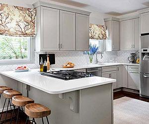 small kitchen ideas small-kitchen ideas: traditional kitchen designs HCXHZKT