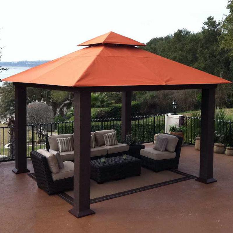 small patio gazebo canopy NLTJRQD