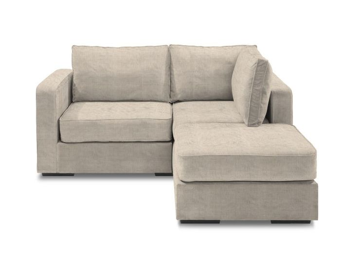 small sofas small chaise sectional with tan tweed covers - this is exactly what i THSYAGS