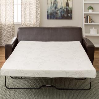 sofa bed mattress innerspace 4.5-inch memory foam full-size sofa sleeper mattress RDGULRI