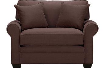 sofa chair cindy crawford home bellingham chocolate sleeper chair SEDEULZ