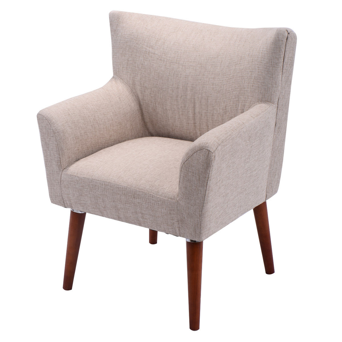 sofa chair costway leisure arm chair single couch seat home garden living room  furniture YRFXMTC