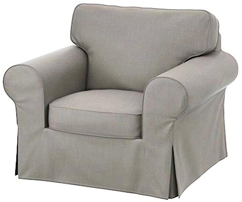 sofa chair the dense cotton ektorp chair cover replacement is custom made for ikea TGHBCSA