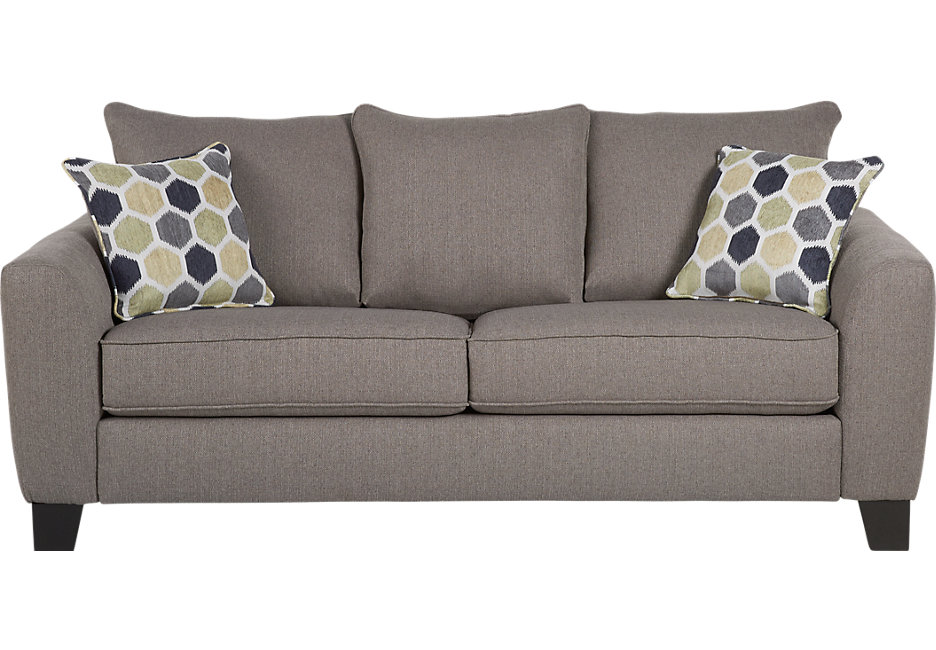 sofa sleeper bonita springs gray sleeper sofa - sleeper sofas (gray) XNSKZOS