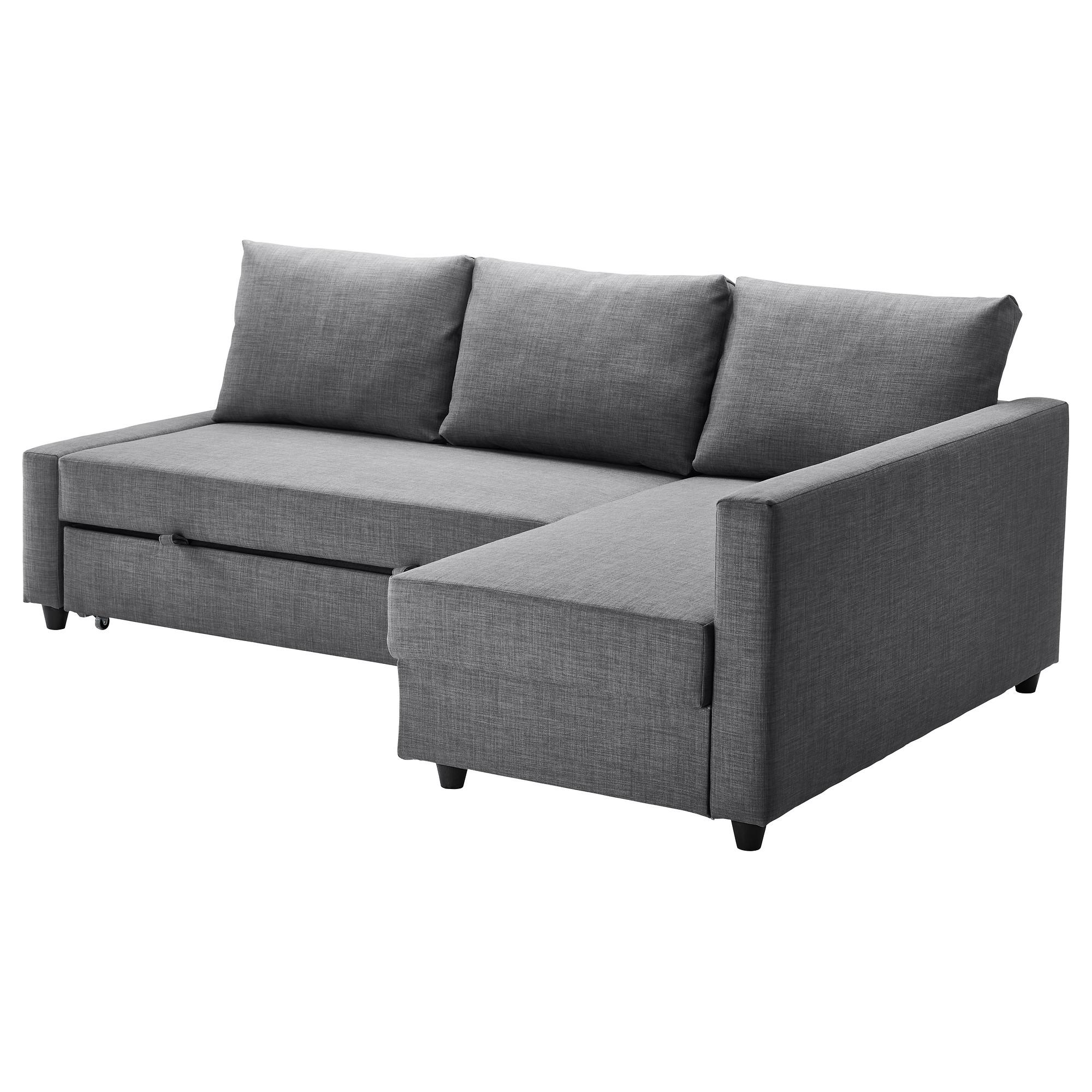 sofa sleeper friheten sleeper sectional,3 seat w/storage - skiftebo dark gray - ikea EQIZMMA