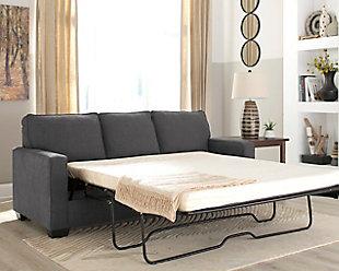 sofa sleeper living room furniture item on a white background CHHXJZV