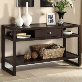 sofa table with storage drawers KMTRRPJ