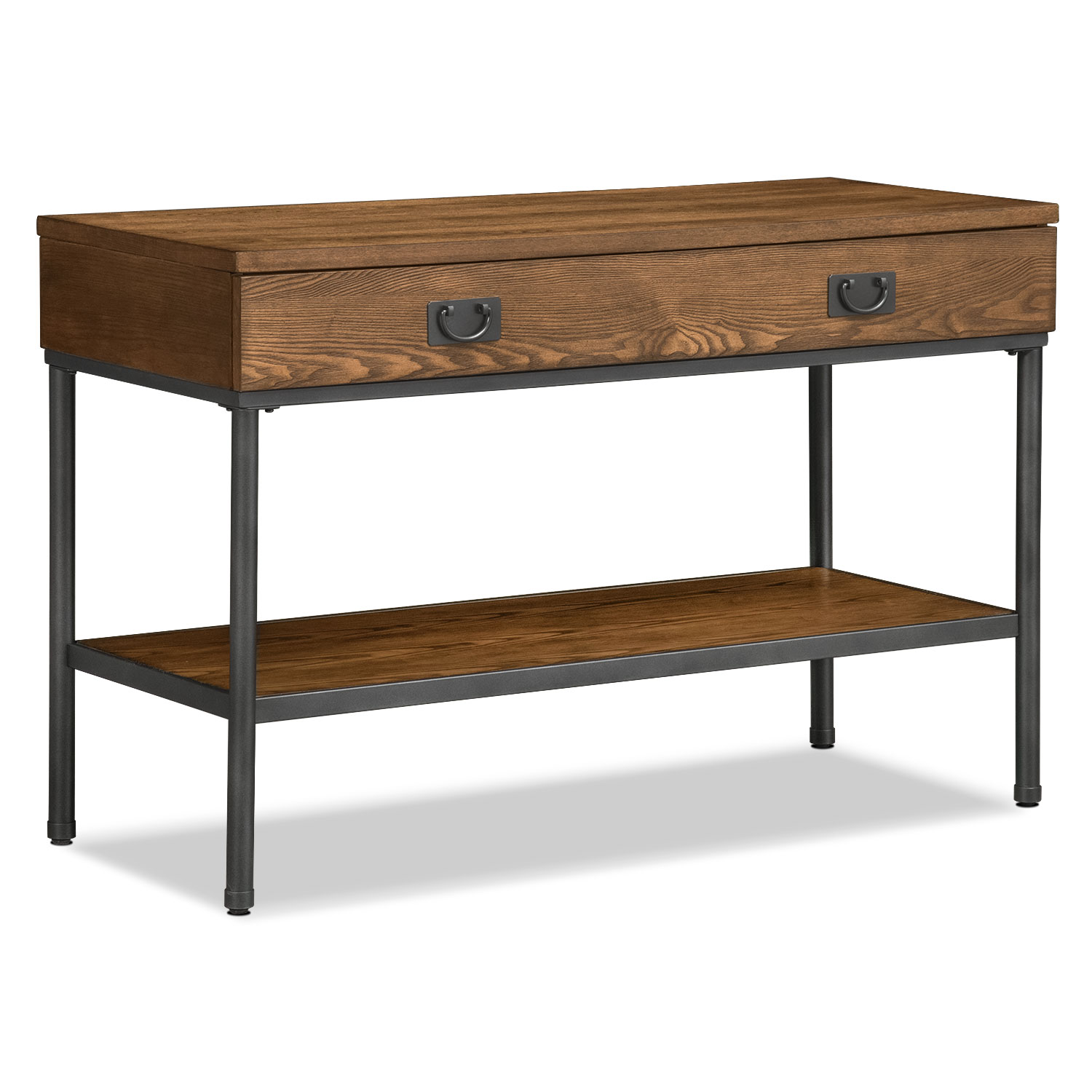 sofa tables shipyard sofa table - nutmeg LELKPOW