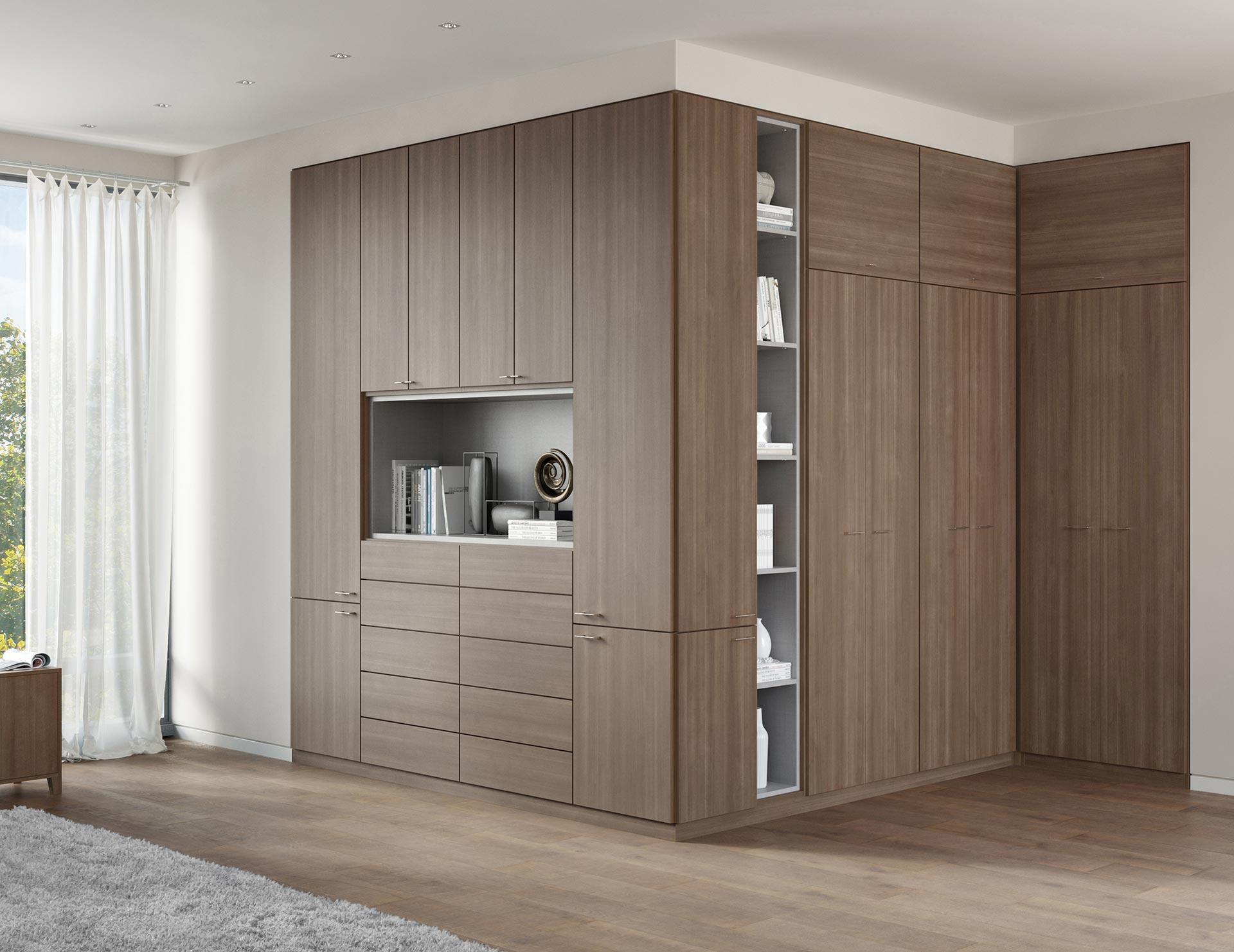 soho built-in wardrobe closet TUANQTH