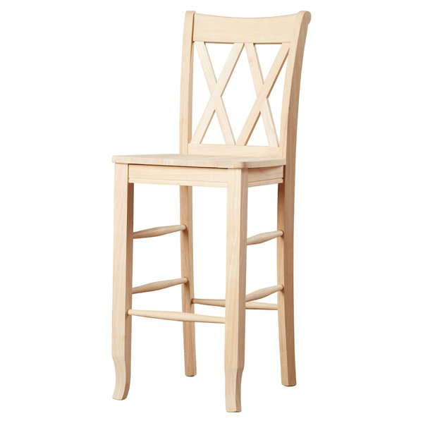 solid wood bar stools youu0027ll love | wayfair LHBDNAB