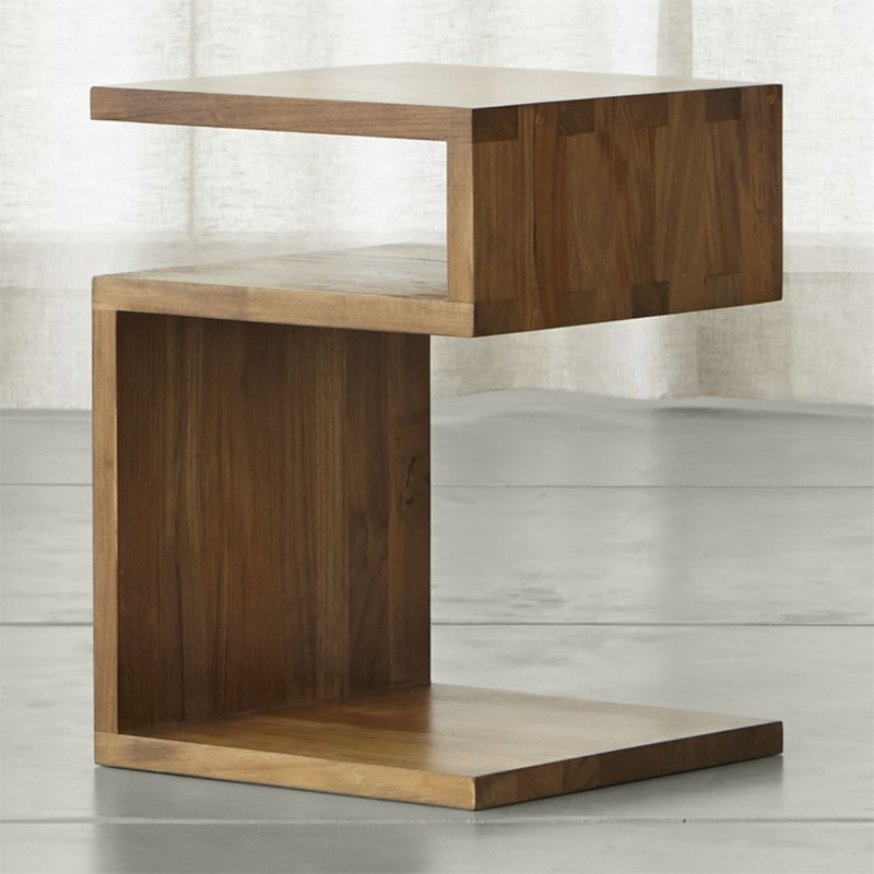solid wood furniture entu side table DPRTKNP