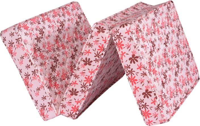 springtek folding mattress 4 inch single high density (hd) foam mattress WXJHSHM