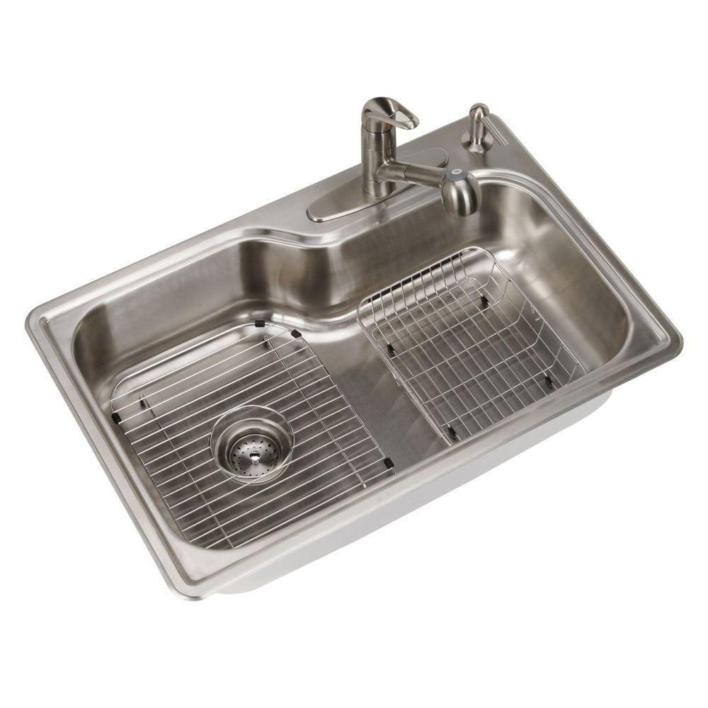 stainless steel kitchen sinks all-in-one drop-in stainless steel 33 ... TAAAEFI