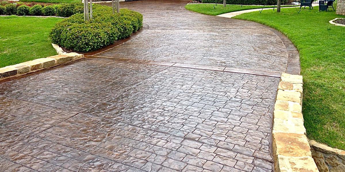 stamped concrete RNOKGJU