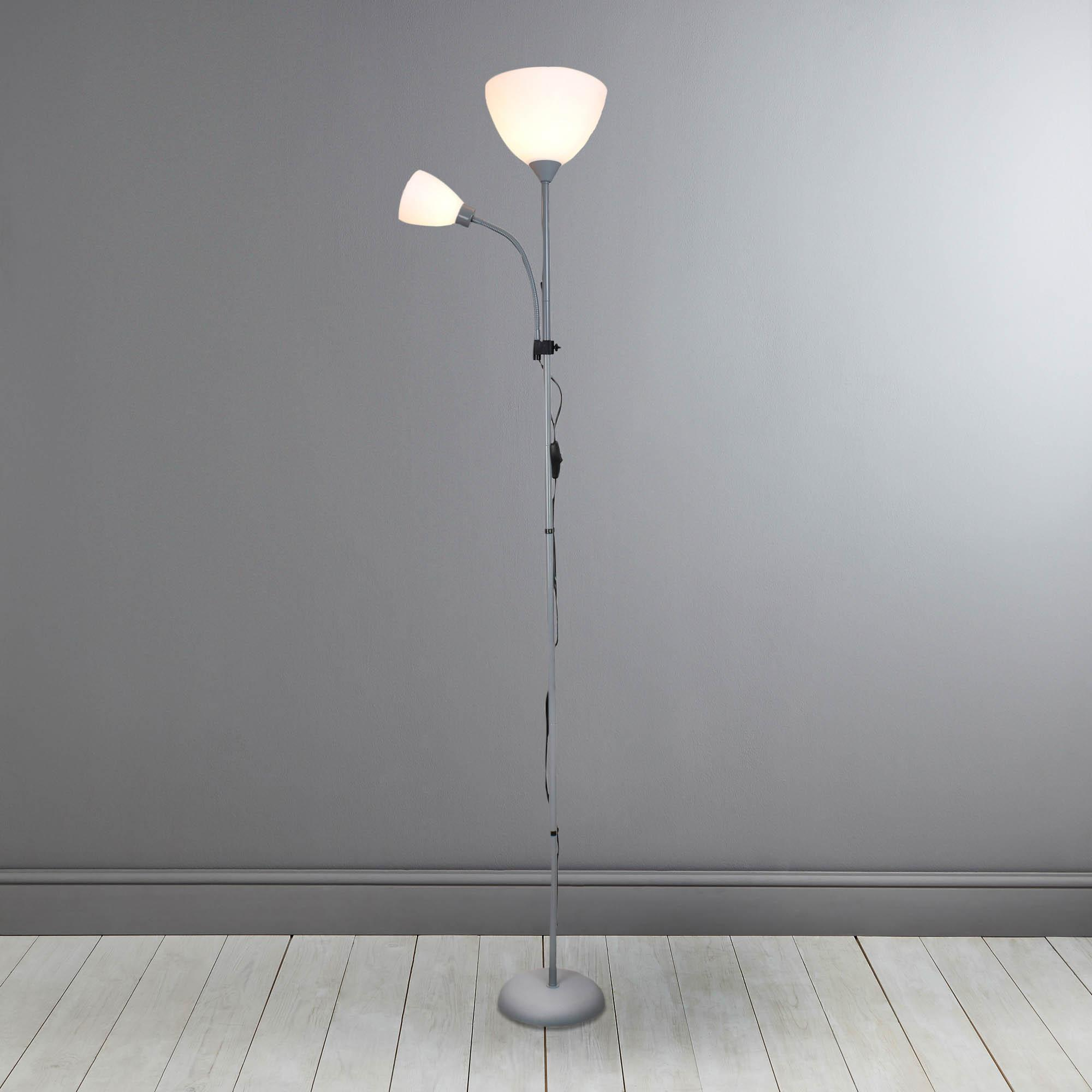standard lamps bari silver uplighter floor lamp. loz_50_percent_off_ws15 KZYYVFS