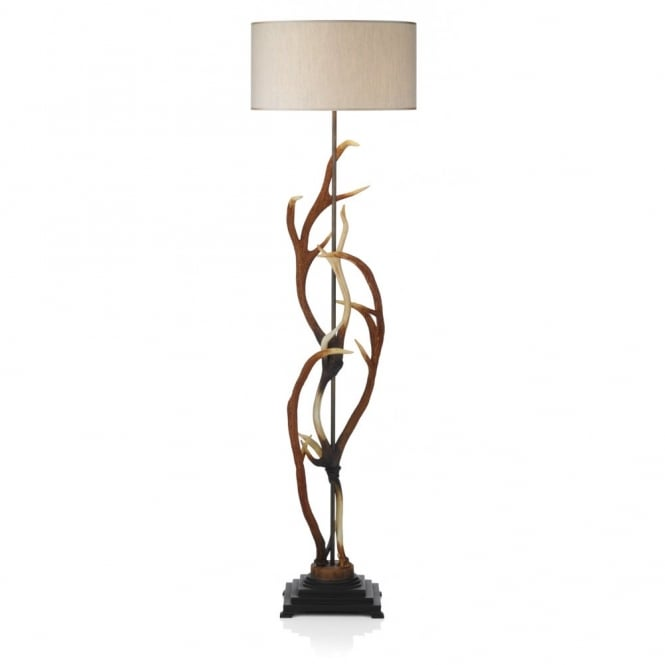 standard lamps stag antler floor lamp with shade realistic deer antlers standard lamp VSCDBKA