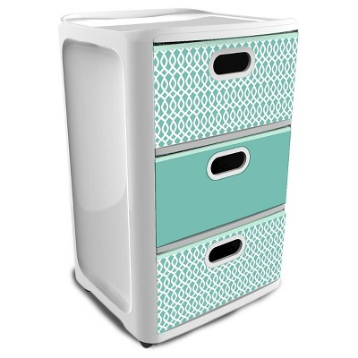 storage drawers home logic aqua SDKSUBM