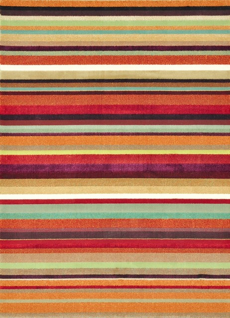 striped rugs solid/striped riviera area rug, rectangle, multi stripe, 5u00272 NGCPULC