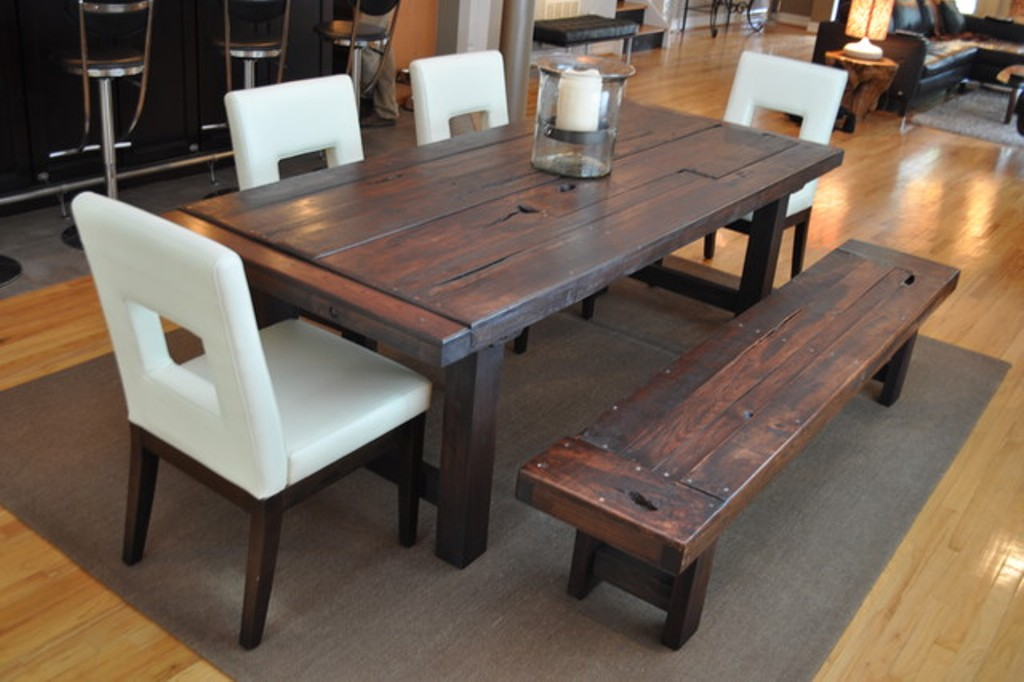 stylish real wood dining table with dining tables inspiration dining table  set FDWHNEB