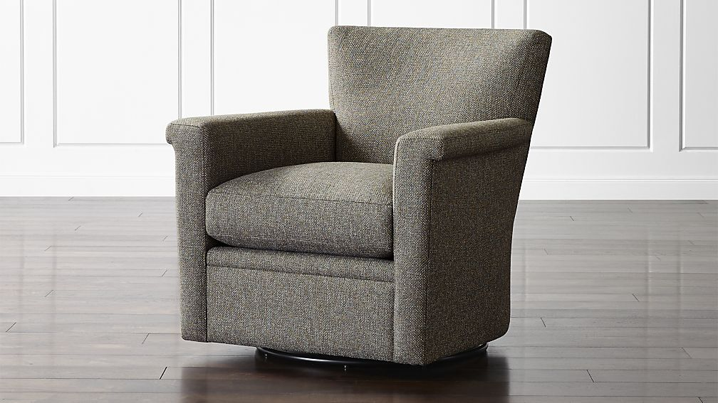 swivel chairs declan 360 swivel glider ... UZIJMNP