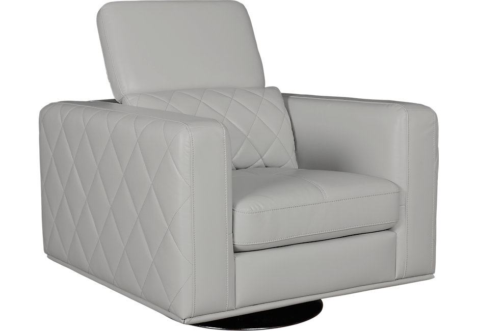swivel chairs sofia vergara sorrento platinum swivel chair - chairs (beige) MFAHJZN