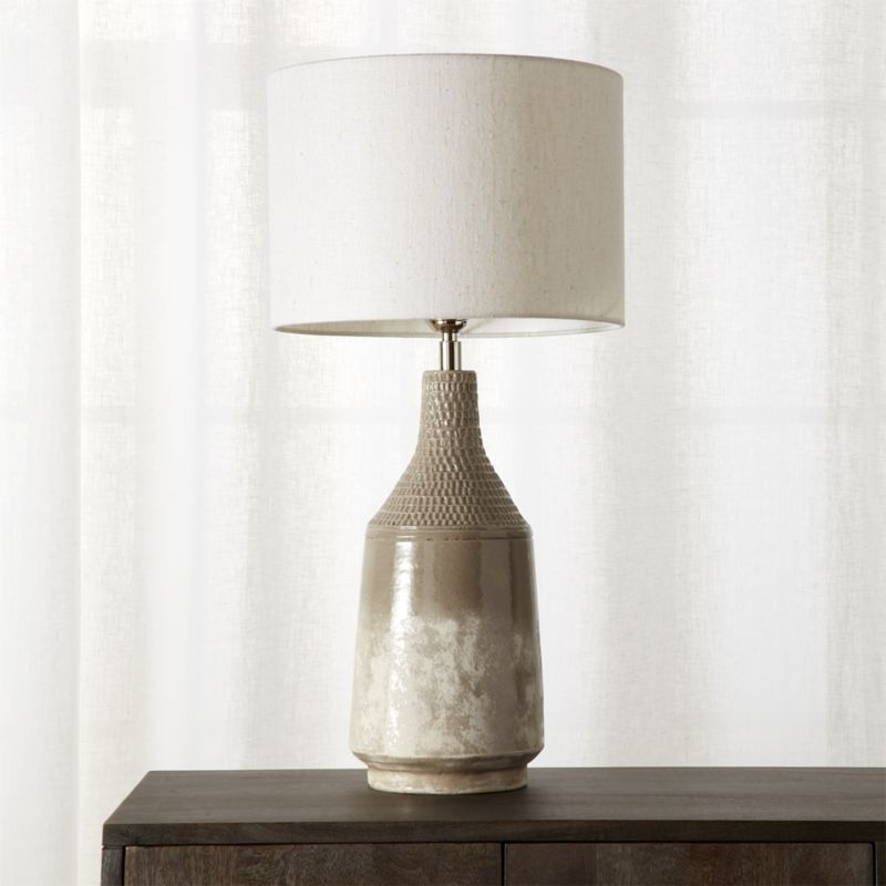 table lamps miya table lamp | cb2 TEWZRUZ