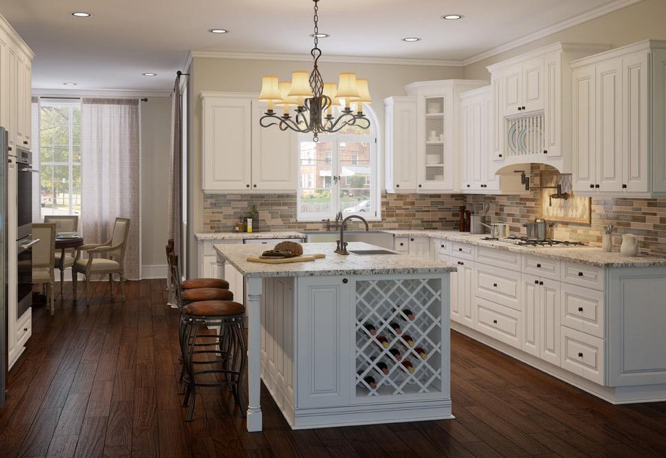 tacoma white kitchen cabinets - rta cabinet store NWDZBIS