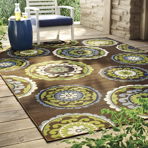 Take Good Care Of Your Patio Rugs By Rolling Them Up In Snowy Yozngsj