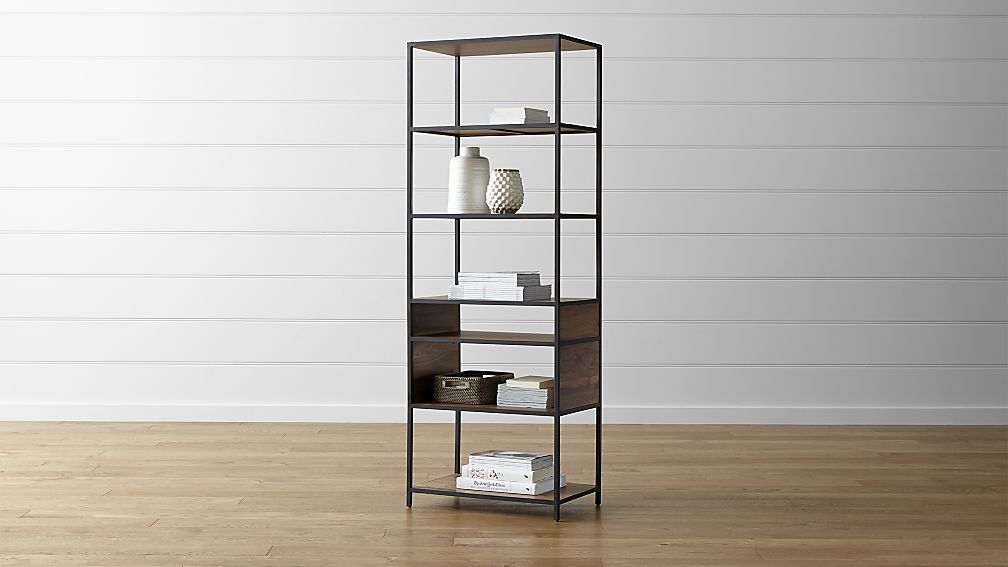 tall bookcase knox tall open bookcase ... EYEBZUS