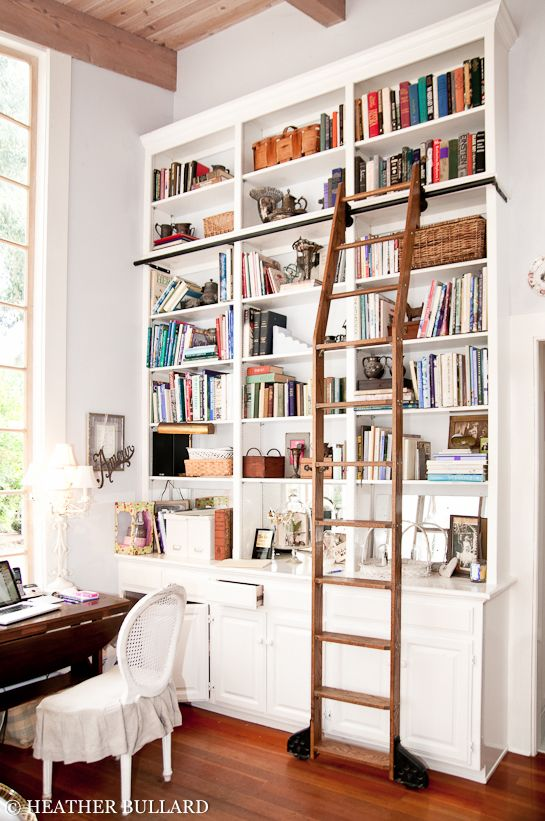 tall bookshelves library bookcases with ladders MSRDAGS