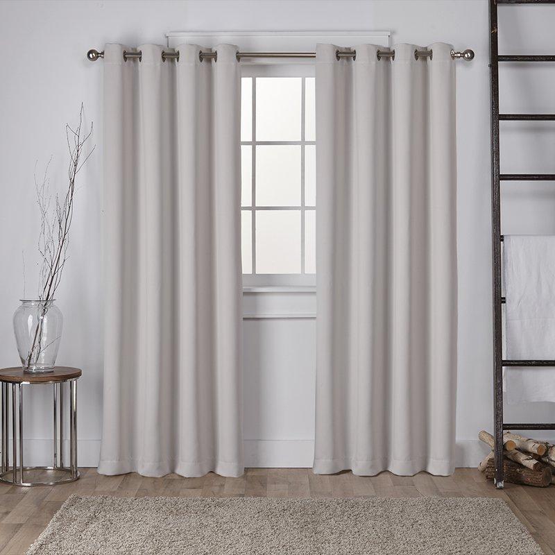 tamara solid room darkening grommet curtain panels QKVHDEH