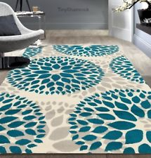 teal rugs teal gray area rug floral medallion 5 x 7 modern urban style room DRGHALO