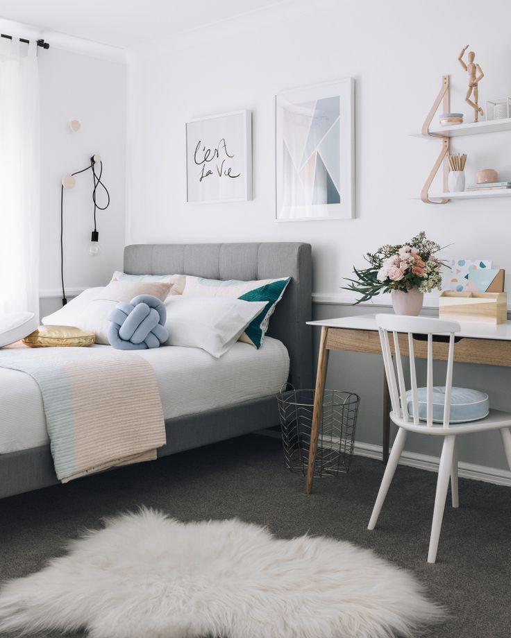 teen bedroom kateu0027s teenage bedroom makeover (oh eight oh nine) AWHQNAC