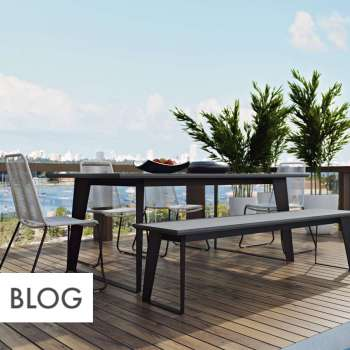 the best materials for modern outdoor furniture MAFFXCB