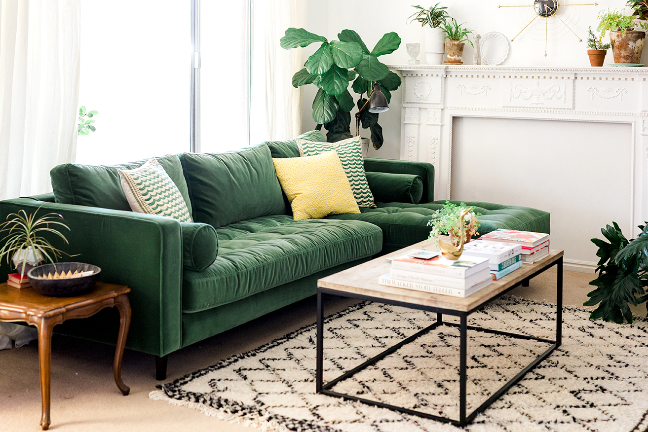 Should You Go For A Green Sofa Goodworksfurniture
