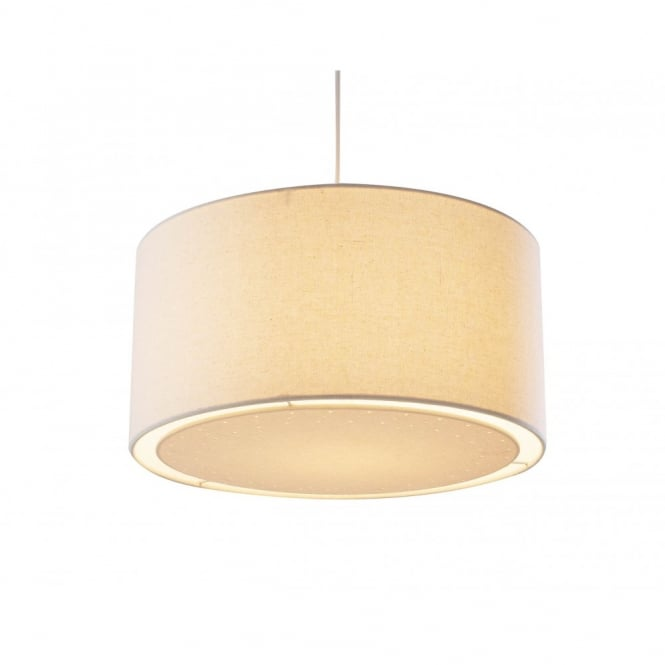 the lighting book edward easy fit cream ceiling light shade ORUMMZW