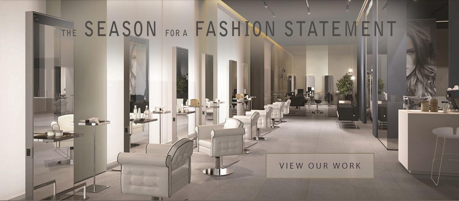 the season for a fashion statement. customer-driven salon furniture designs AGVMITZ