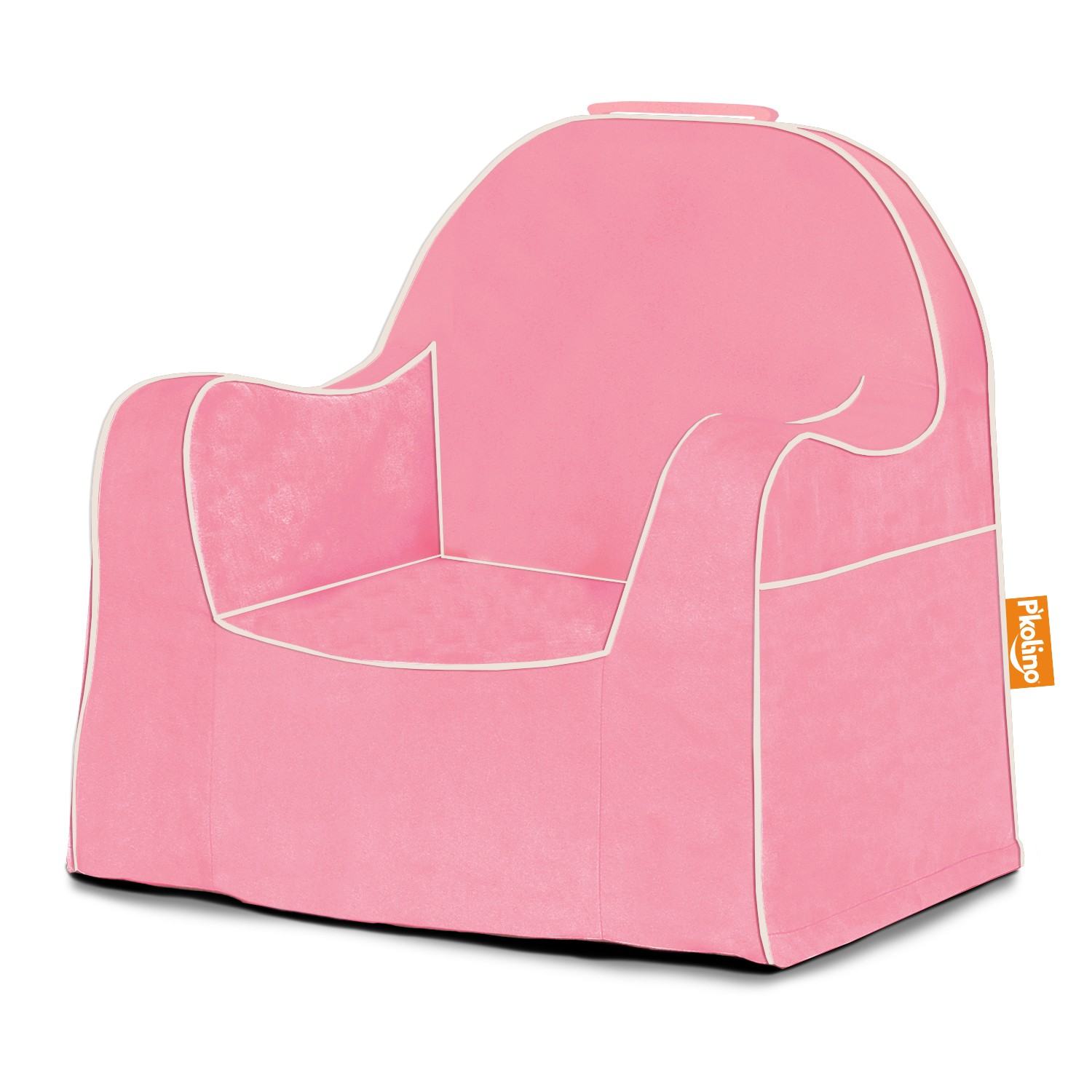 toddler chair - light pink with white piping - pkfflrslpk - pkolino TWTRDSC
