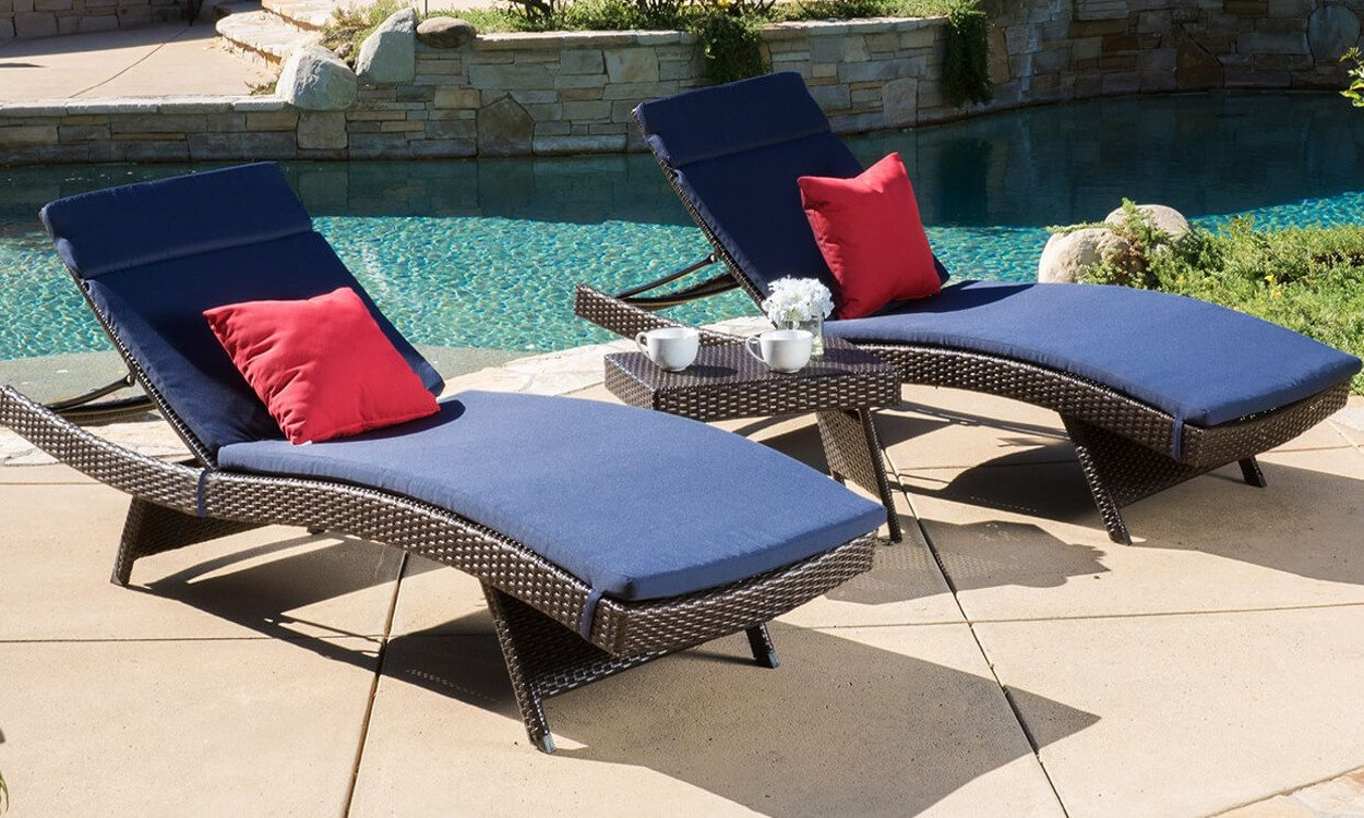 top 5 types of pool furniture RZAPTJK