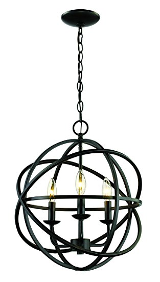 trans globe lighting 70653 rob indoor apollo 16 pendant, rubbed oil  bronze OBGRUBN
