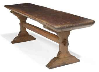 tressel table | trestle table | late 16th century | interiors auction | CIIUQCM
